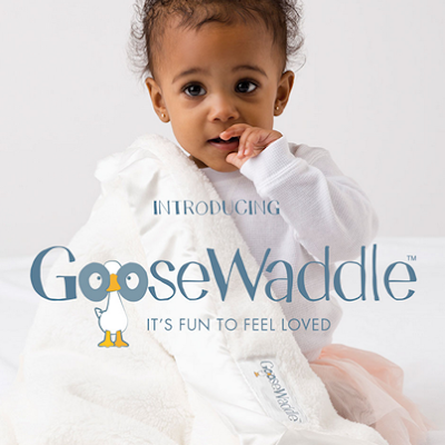 Enter to win a luxuriously soft baby blanket from Goosewaddle! #giveaway #win