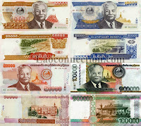 Image of Lao money, the kip