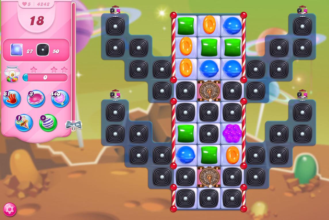Candy Crush Saga level 4242