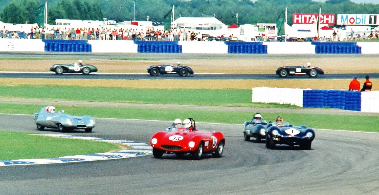 Vintage international sports car racing game