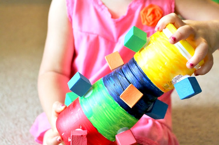color sorting toddler learning activity