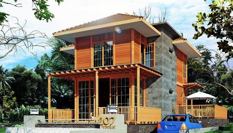 Desain Rumah Kayu Ulin 2016 - METRO PROPERTI
