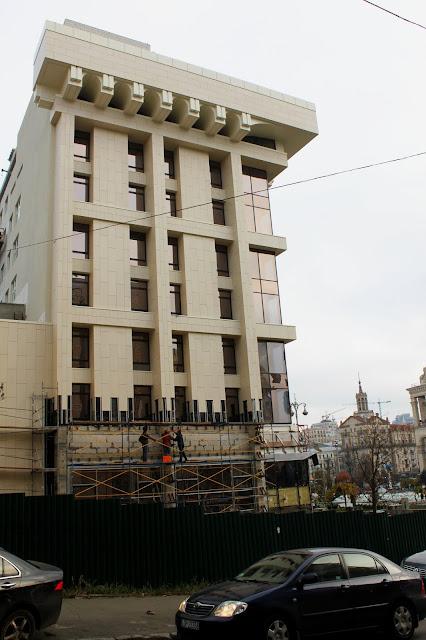 Реставрация Дома профсоюзов