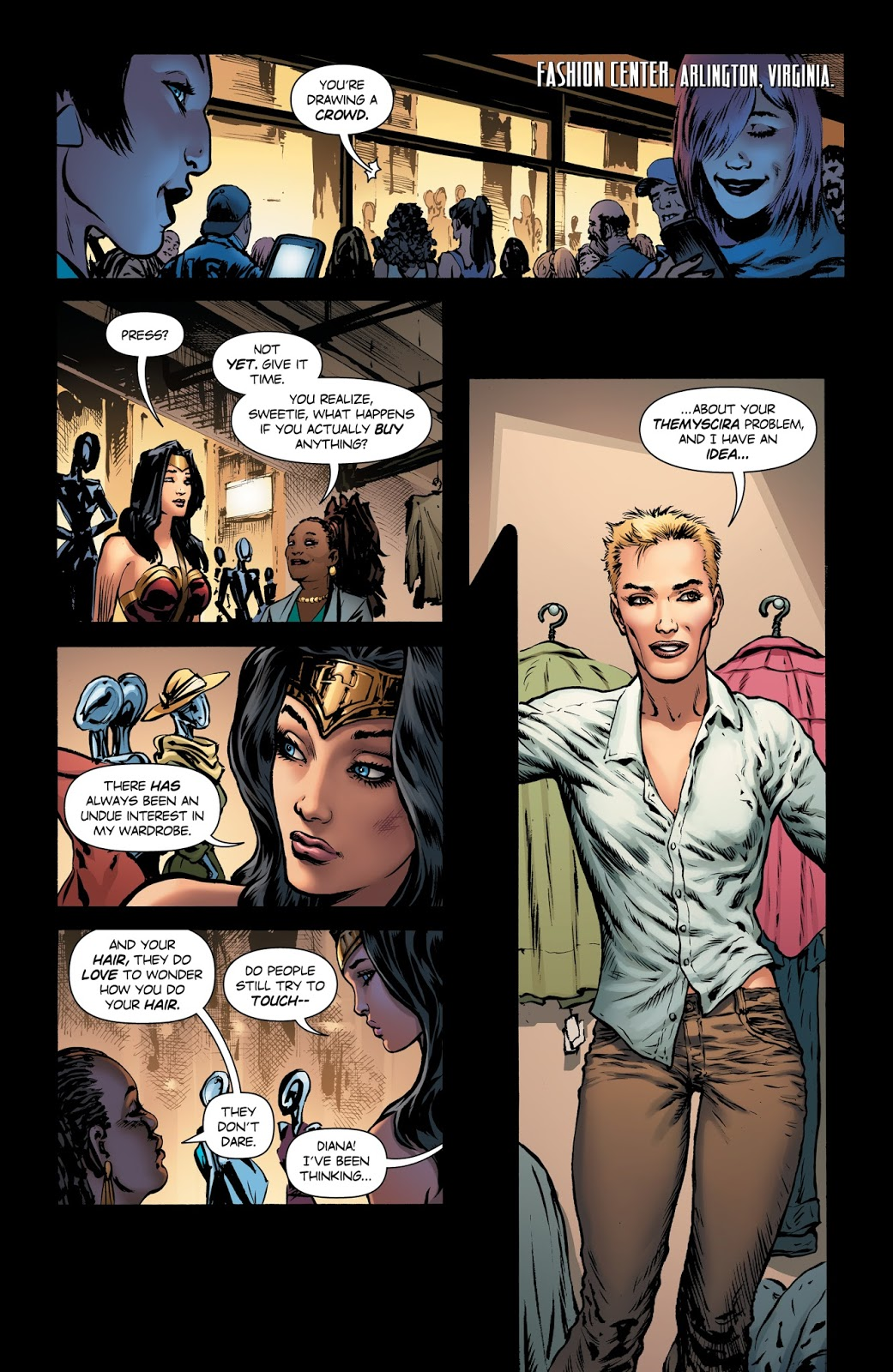 Weird Science DC Comics: Wonder Woman #9 Review and *SPOILERS*