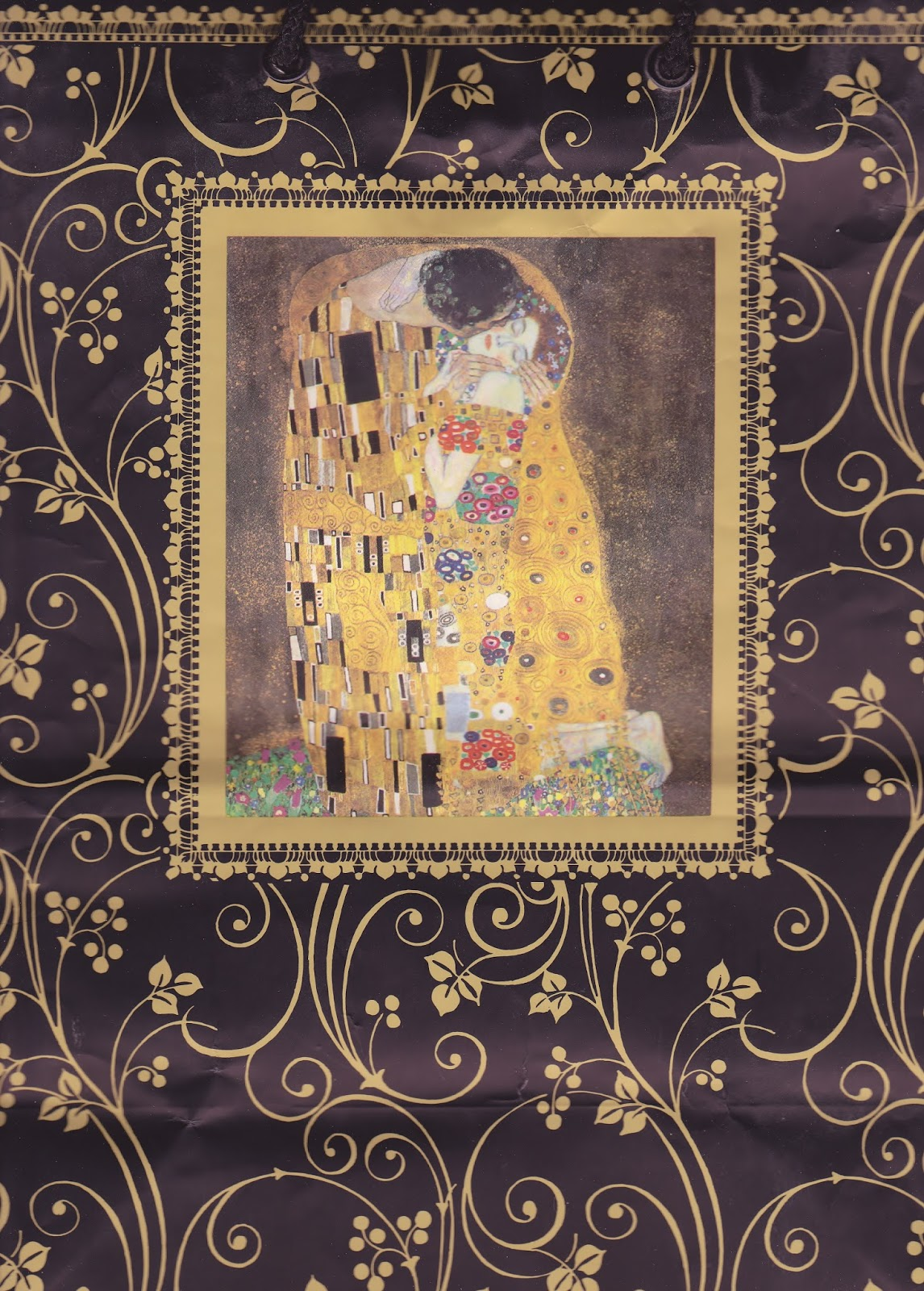 TeawomanTarot: Testing, Testing: The Golden Tarot Of Klimt