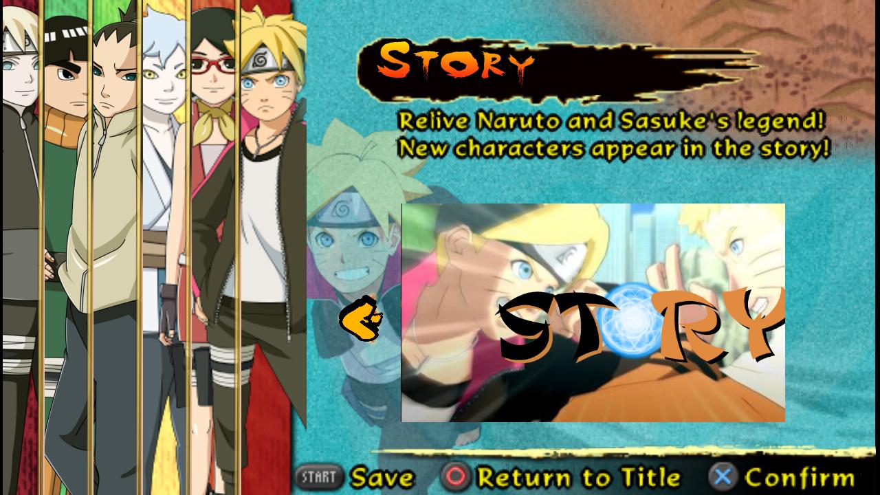 Naruto Shippuden Ultimate Ninja Storm Legacy Mod Textures PPSSPP