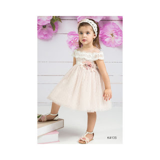 baptism gown with lace