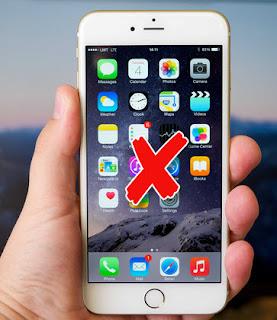 Mengatasi layar iphone error bergerak sendiri, kurang responsif atau tidak bisa disentuh