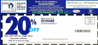 Bed Bath and Beyond coupons april