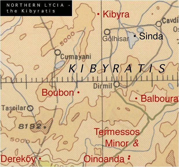 antik dönem haritası