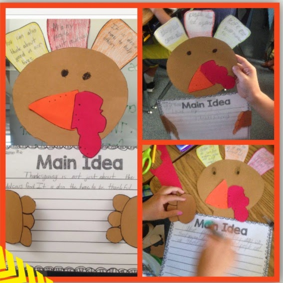 turkey craftivity