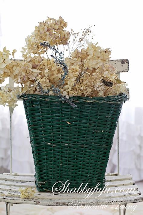 flower-basket-dried-hydrangeas