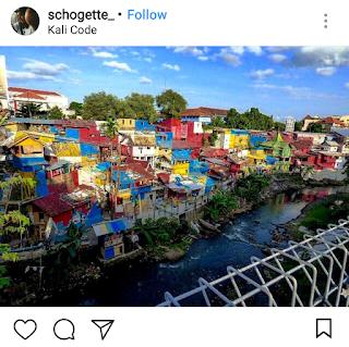 tempat wisata kekinian kampung kali code
