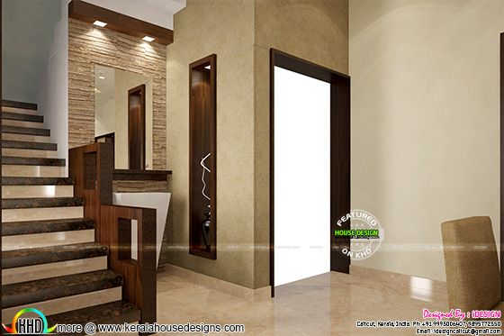 Front Elevation Designs Kerala : Modern interior concepts house kerala home design and