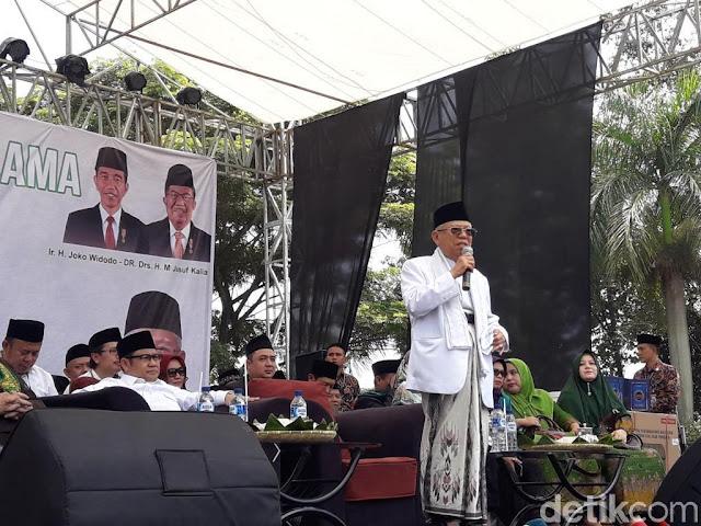 Ma'ruf Amin: Urang Sunda Kudu Milih Urang Sunda