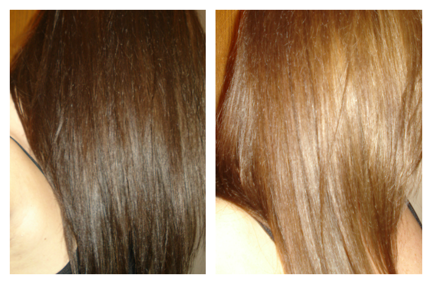 Loreal blue black hair dye results
