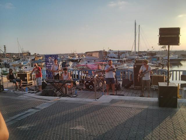 הופעות בנמל