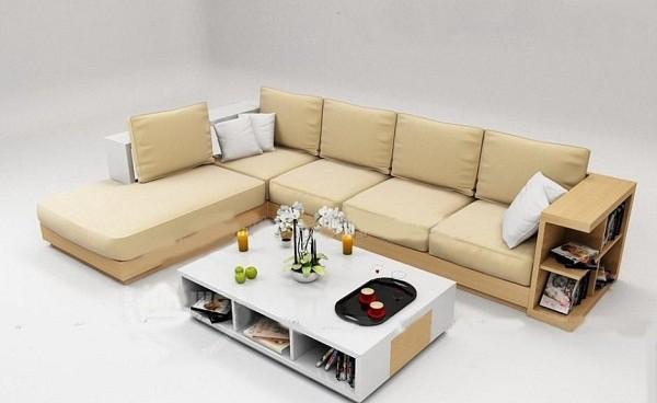 Sofa gỗ tự nhiên tốt cho sức khỏe