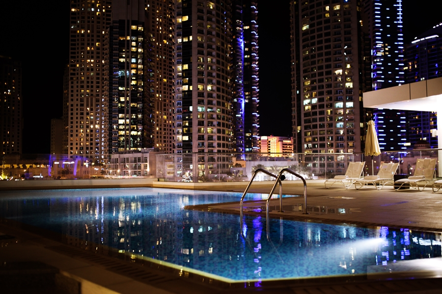 pool area dubai la verda rooftop