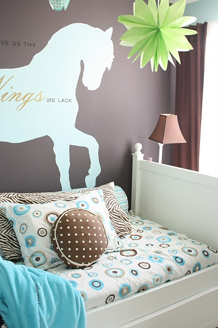 Remodelaholic Girl 39 S Dream Room And Re Purposed Bed To Desk