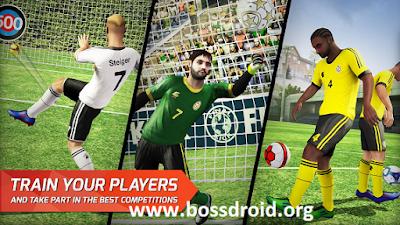 Final kick: Online football Apk Mod