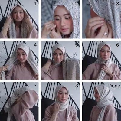 Ini Dia Beberapa Tutorial Hijab Modern dan Trendi Ala Laudya Cynthia Bella