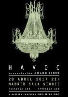 Concierto de Havoc y Oso miel oso en Siroco Club