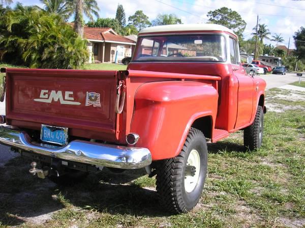 1955 GMC 4x4 Big Window Truck - 4x4 Friday