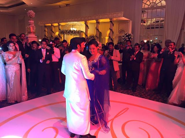 Health minister Rajitha Senaratne son's Eksath senarathna Wedding