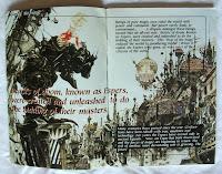 Final Fantasy VI - Manual interior