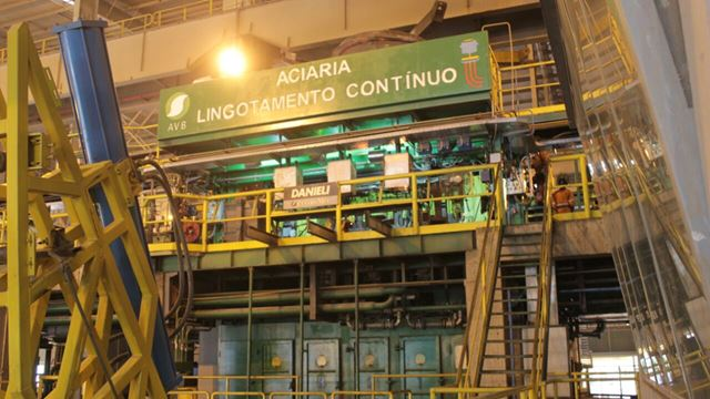 Instalações da laminaria, segunda fase do projeto da AVB, que deve atrair diversas indústrias para a região