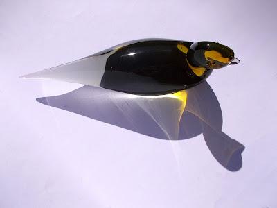 Scultura di vetro massello - artigianato - complementi d'arredo - annunci
