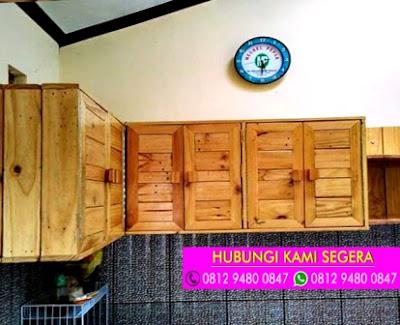 Jasa Pembuatan Kitchen Set Jati Belanda Cinere Depok 0812 9480 0847