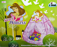 Play House Junior CBH-13 Sweet Princess + 100 Bola