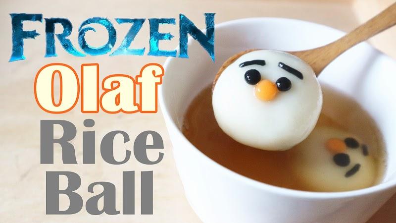 Olaf Rice Balls 雪寶湯圓