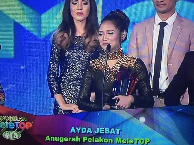 Dominasi Ayda Jebat Dalam Anugerah Meletup Era 2016 Dipersoal