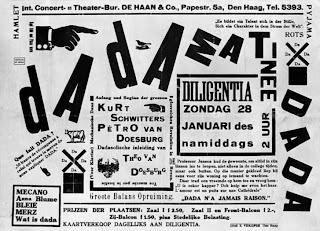 Póster del Matinée dadá - enero de 1923