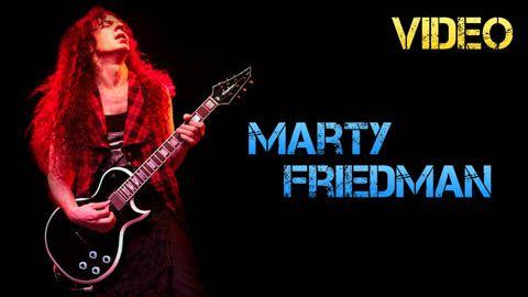 Vídeo Biografía Marty Friedman
