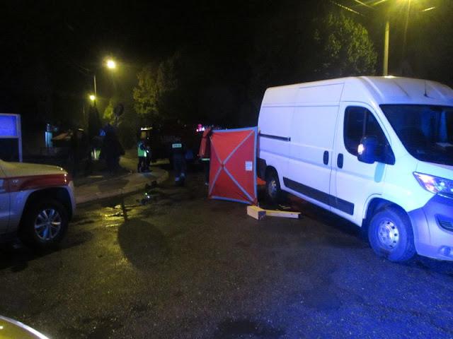 Śmiertelny wypadek w Wójcicach- kierowca przejechał mężczyznę leżącego na jezdni