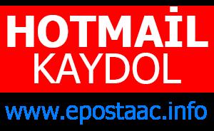 Hotmail Aç, Hotmail Kaydol