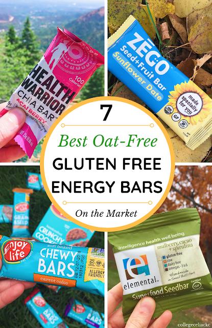 A Celiac's Top 7 Oat Free Gluten Free Snack Bars