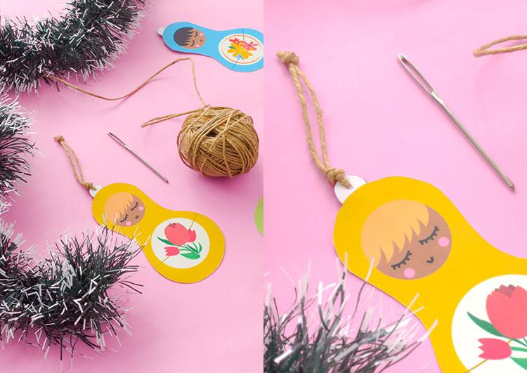 DIY: decoração para árvore de Natal simples e barata! (e muuuuito legal!) | espanta-papão