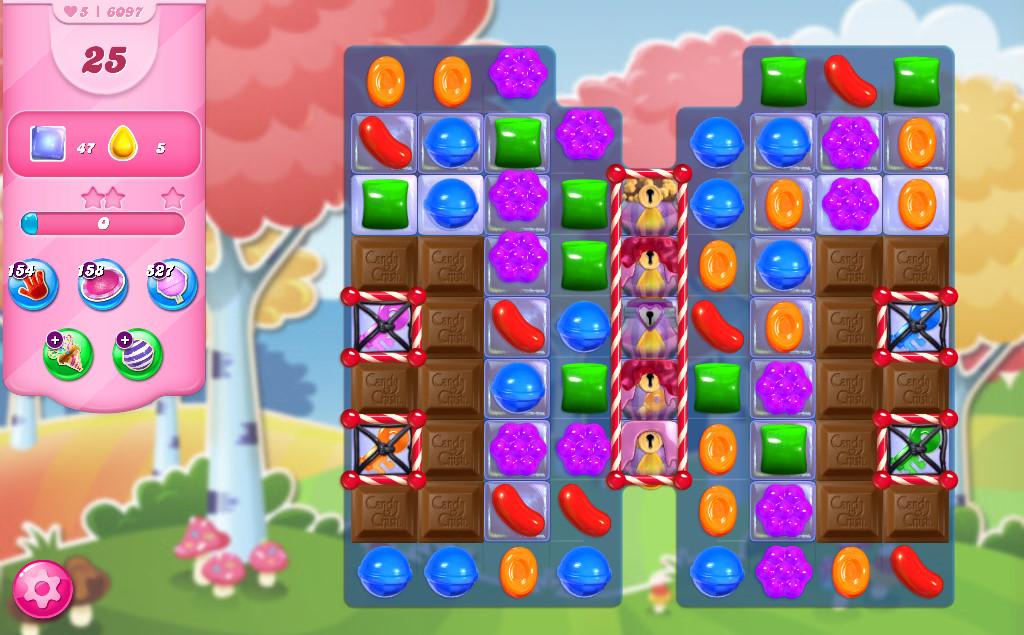 Candy Crush Saga level 6097
