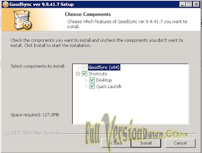 GoodSync v9.9.41.7 - Full Version
