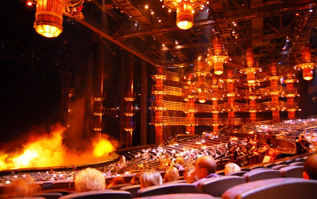 Cirque Du Soleil KÀ at MGM Hotel
