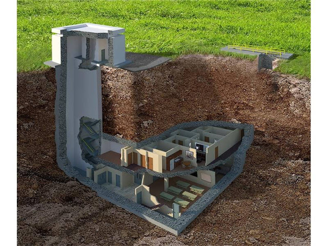 $17.5 Million Underground Bunker (25 Pics)