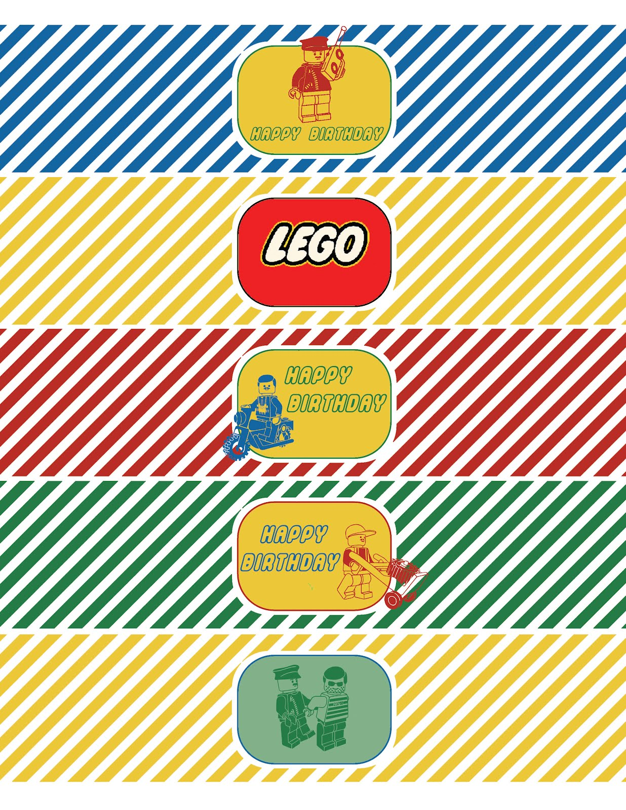 Whatpoppelinesees Classic Lego Inspired Printable