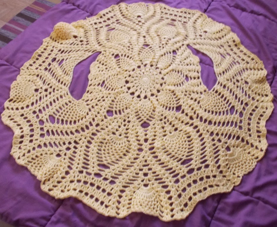Sweet Nothings Crochet One Piece Pineapple Bolero