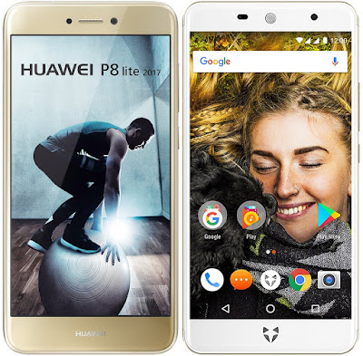 Huawei P8 Lite (2017) vs Wileyfox Swift 2X