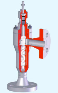 cutaway view industrial control valve special trim reduces cavitation